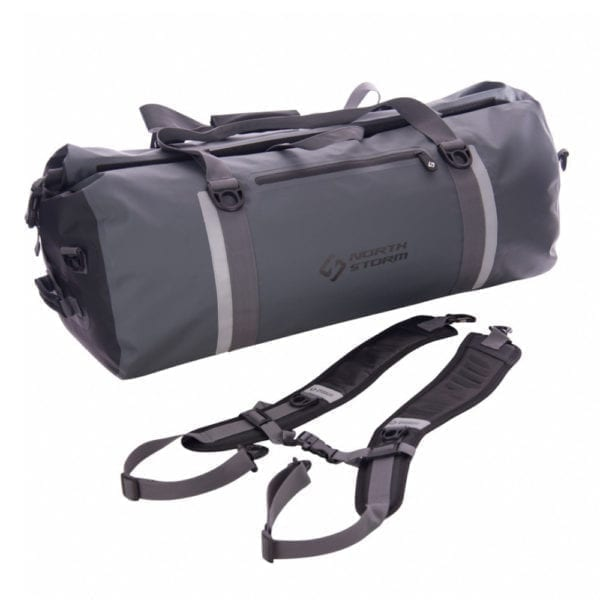 north storm Waterproof Duffel Bag 60 Litre made for boating fishing 4x4 and camping adventures