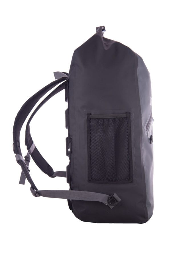 North Storm 30 Litre Waterproof Roll Top backpack Side