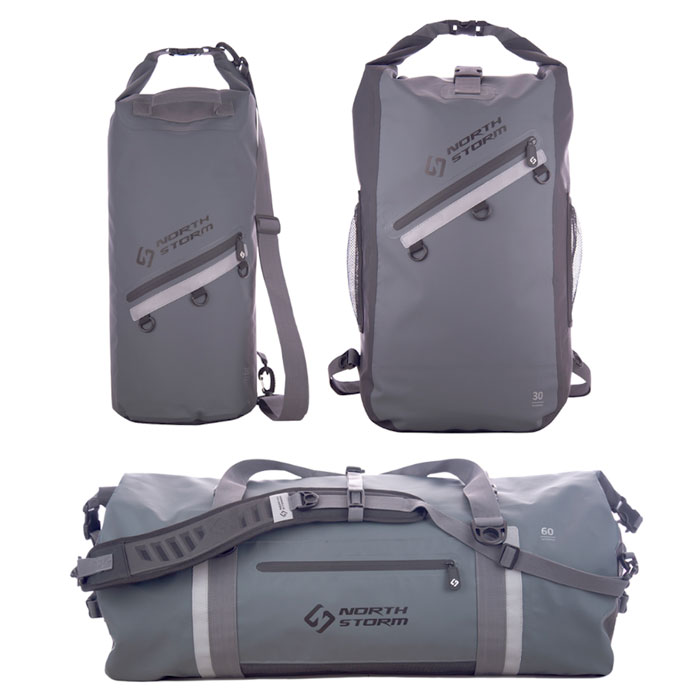 Waterproof Bags | Northstorm Waterproof Bags | North Storm Waterproof RollTop Bags | Waterproof Duffel Bags | Waterproof Back Packs | Waterproof Dry Bags