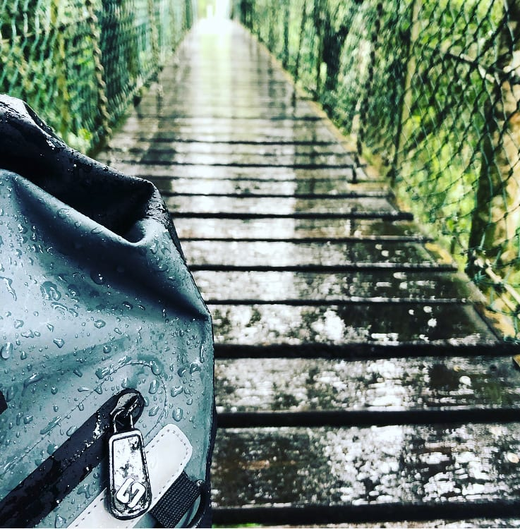 North Storm Waterproof 30 Litre Backpack O'Reilly's Tree Tops Walk Photo By North Storm Waterproof Bag