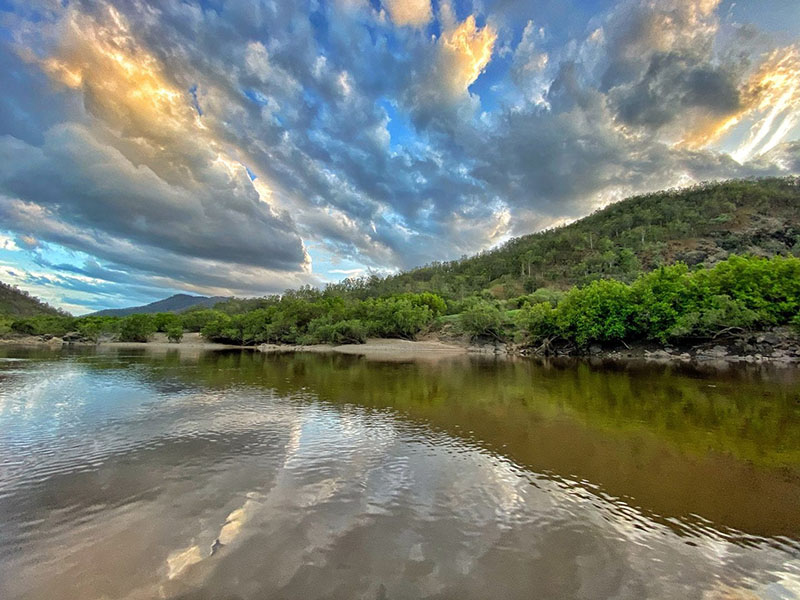 'The Gorge' by the mighty Clarence River by Aussie Destinations Unknown